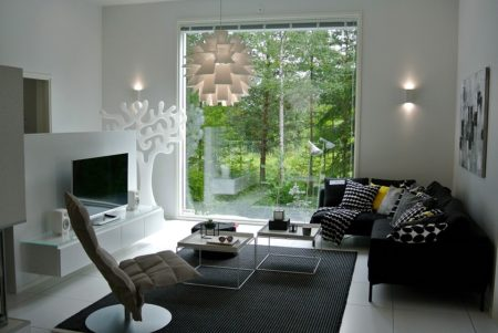 Scandinavia Modern Interior Home Design New House