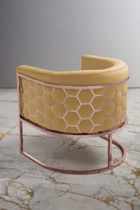 alveare-tub-chair-copper-ochre