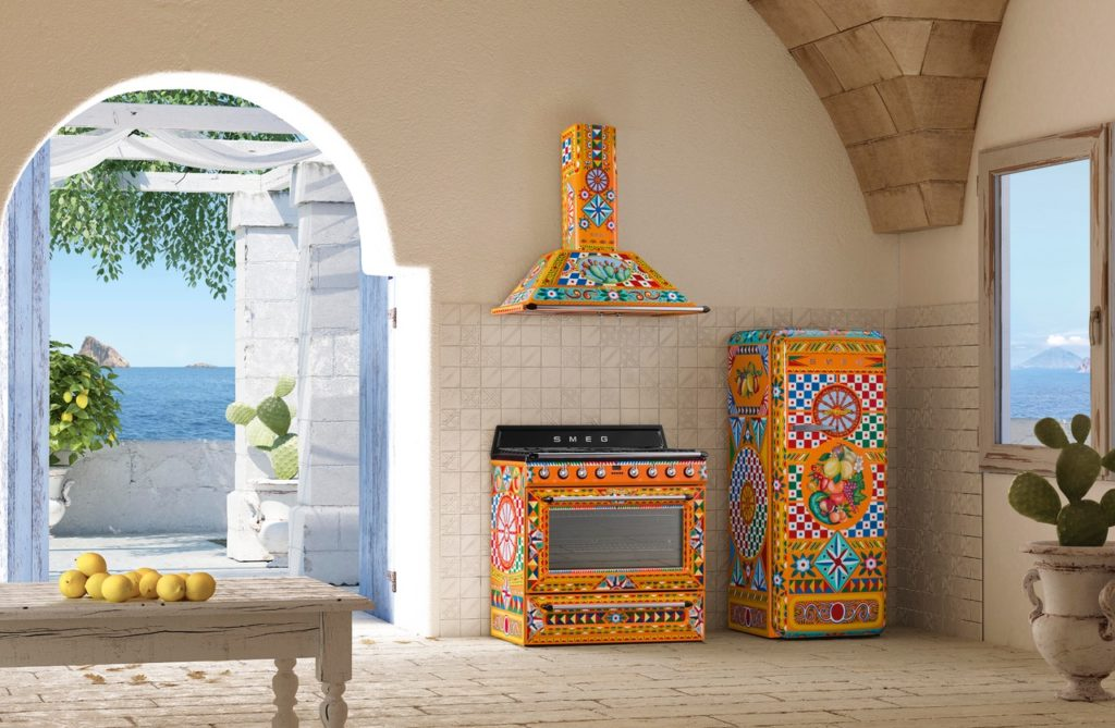 DOLCE U0026 GABBANA And SMEG U2013 Divine Art For The Kitchen
