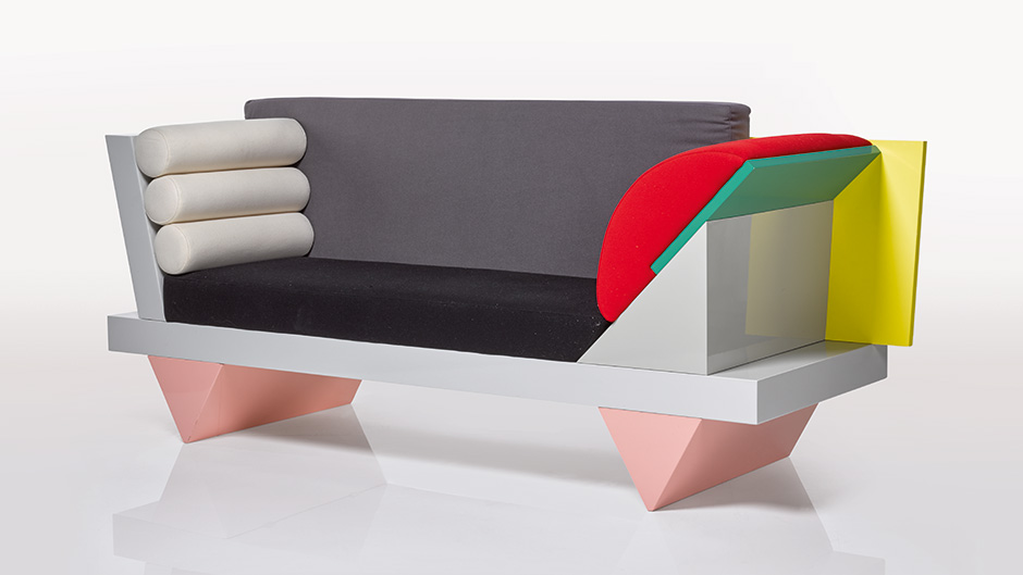 Peter Shire 'Big Sur' Sofa, 1986 Image: Sotheby's
