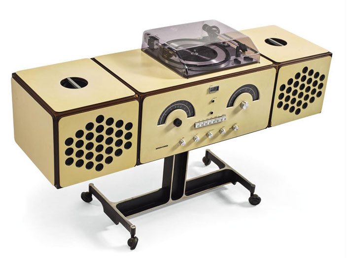Ettore Sottsass Record Player Image: Sotheby's