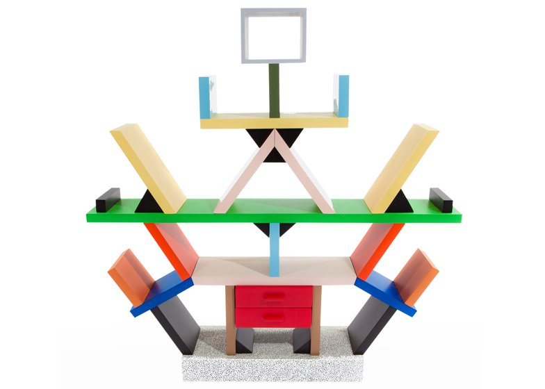 Ettore Sottsass 'Carlton' bookcase Image: Sotheby's