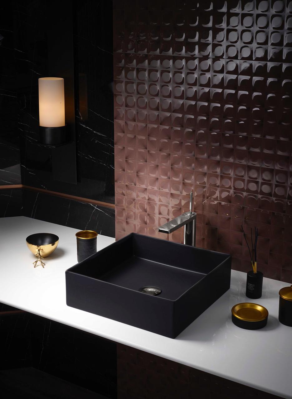 Black To Basics With Kohler Basins