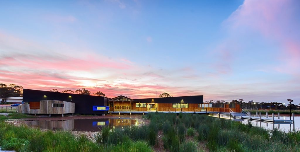 Marist College Bendigo Montagne Centre by Y2 Architecture and Three Acres Landscape Architecture