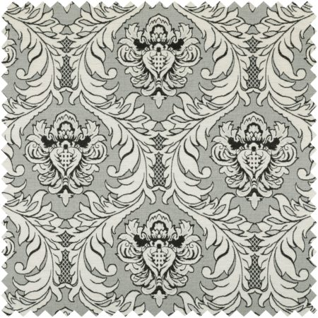 sultan-collection-damask-pattern-silver-shine-effect-grey-black-colour-upholstery-fabric-ctr-131