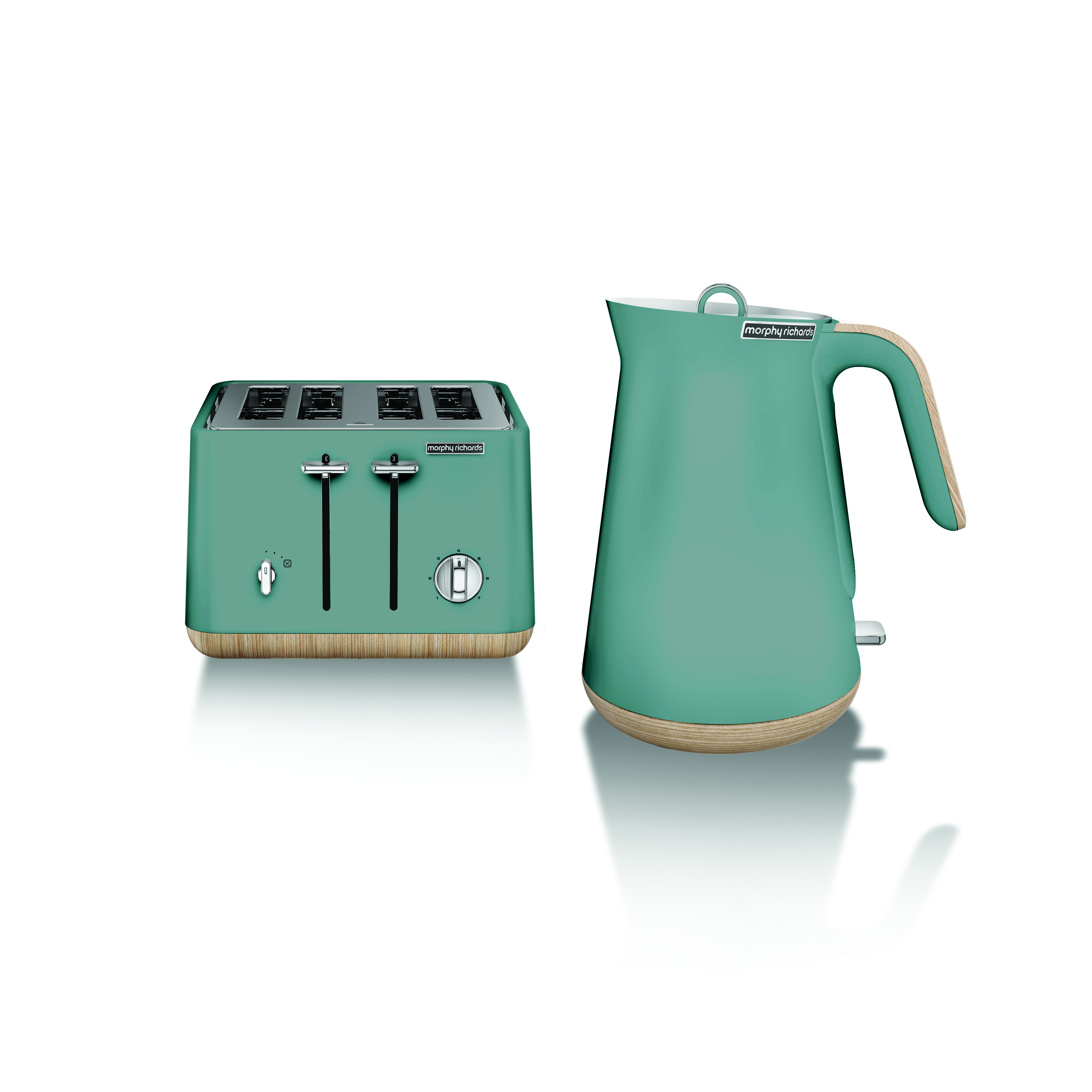 New Teal Toaster & Kettle